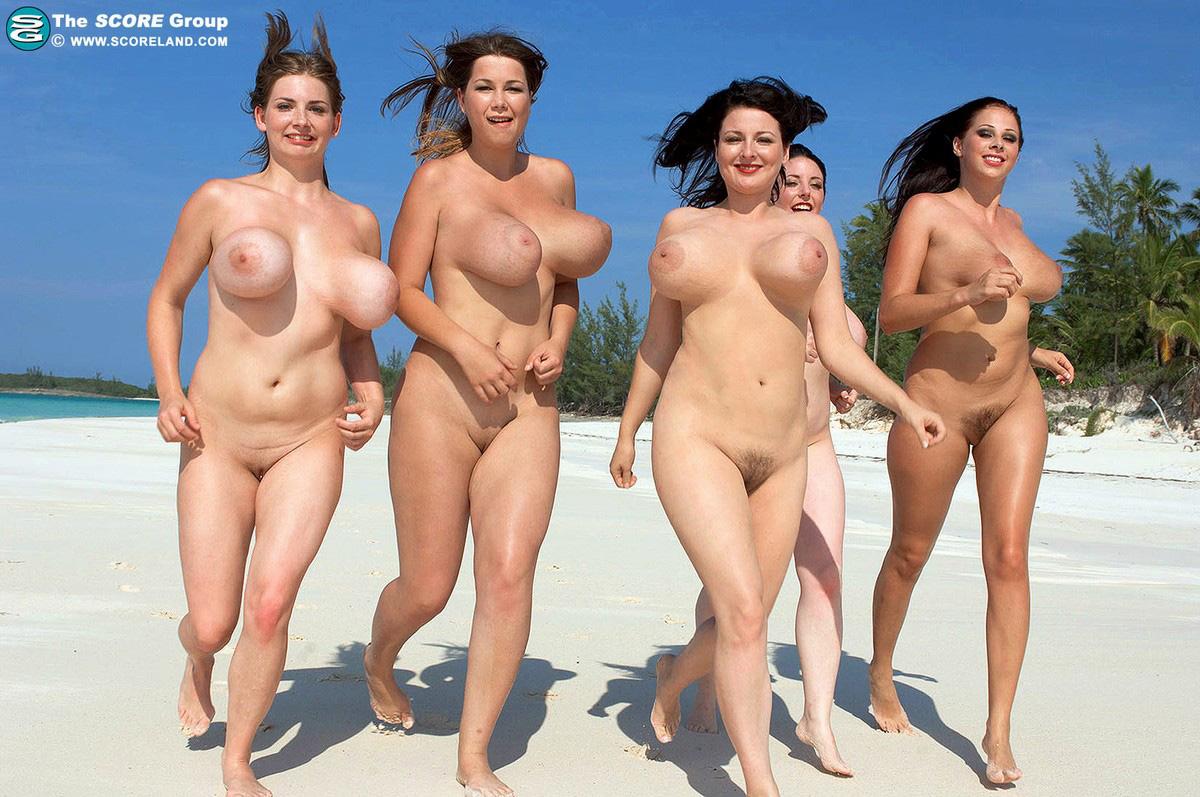 Big tits on nude beach women